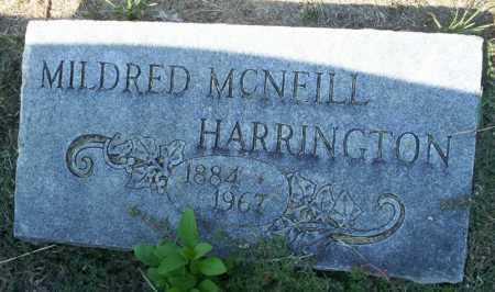 HARRINGTON, MILDRED - Columbia County, Arkansas | MILDRED HARRINGTON - Arkansas Gravestone Photos