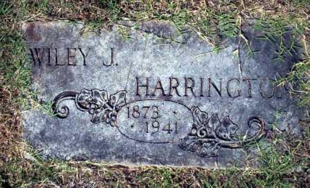 HARRINGTON, WILEY J - Columbia County, Arkansas | WILEY J HARRINGTON - Arkansas Gravestone Photos