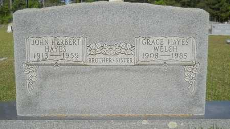 WELCH, GRACE - Columbia County, Arkansas | GRACE WELCH - Arkansas Gravestone Photos