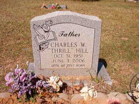 "HILL, CHARLES W ""THRILL"" - Columbia County, Arkansas 