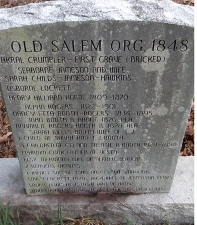 JAMESON, WILLIAM SEABORNE - Columbia County, Arkansas | WILLIAM SEABORNE JAMESON - Arkansas Gravestone Photos