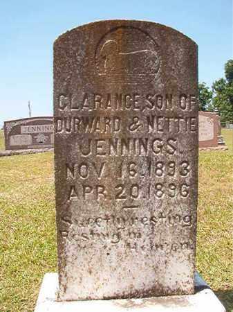 JENNINGS, CLARANCE - Columbia County, Arkansas | CLARANCE JENNINGS - Arkansas Gravestone Photos