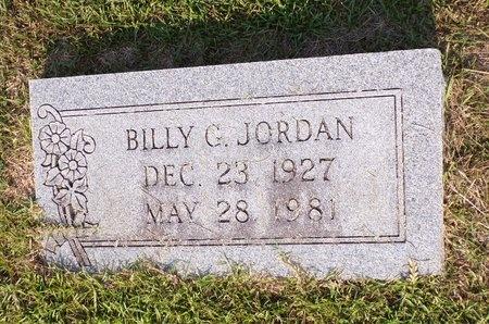 JORDAN, BILLY G - Columbia County, Arkansas | BILLY G JORDAN - Arkansas Gravestone Photos