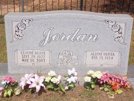 JORDAN, CLAUDE DUANE - Columbia County, Arkansas | CLAUDE DUANE JORDAN - Arkansas Gravestone Photos