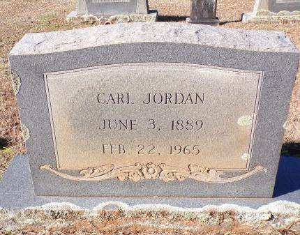 JORDAN, CARL - Columbia County, Arkansas   CARL JORDAN - Arkansas Gravestone Photos