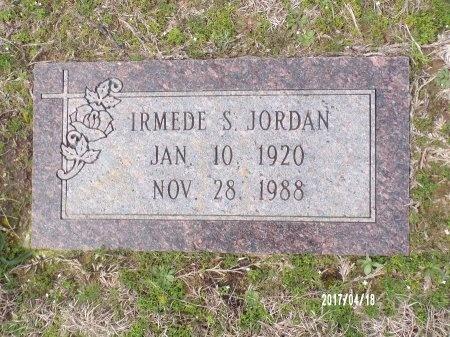 JORDAN, IRMEDE S - Columbia County, Arkansas | IRMEDE S JORDAN - Arkansas Gravestone Photos