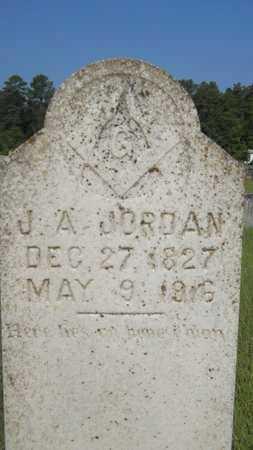 JORDAN, JAMES ANDREW - Columbia County, Arkansas   JAMES ANDREW JORDAN - Arkansas Gravestone Photos