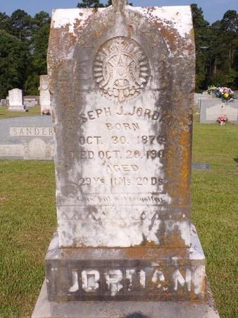 JORDAN, JOSEPH J - Columbia County, Arkansas   JOSEPH J JORDAN - Arkansas Gravestone Photos