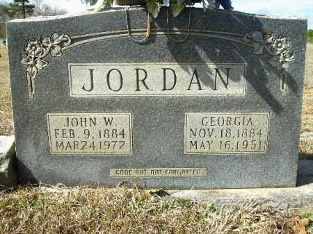 JORDAN, JOHN W - Columbia County, Arkansas | JOHN W JORDAN - Arkansas Gravestone Photos