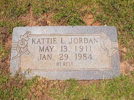 JORDAN, KATTIE L - Columbia County, Arkansas   KATTIE L JORDAN - Arkansas Gravestone Photos