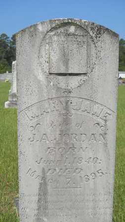 JORDAN, MARY JANE - Columbia County, Arkansas   MARY JANE JORDAN - Arkansas Gravestone Photos