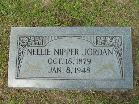 NIPPER JORDAN, NELLIE - Columbia County, Arkansas | NELLIE NIPPER JORDAN - Arkansas Gravestone Photos