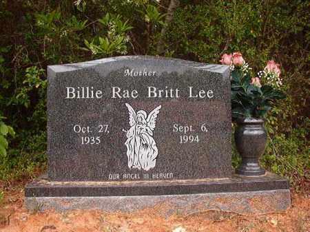 LEE, BILLIE RAE - Columbia County, Arkansas | BILLIE RAE LEE - Arkansas Gravestone Photos