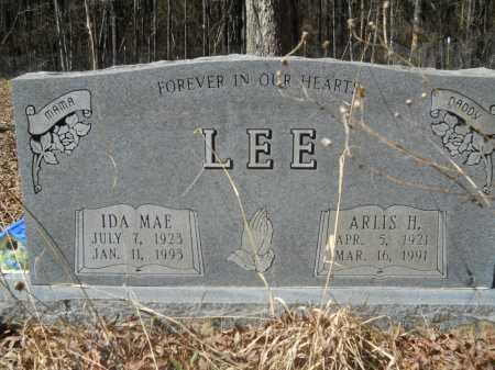 LEE, ARLIS H - Columbia County, Arkansas   ARLIS H LEE - Arkansas Gravestone Photos