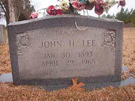 LEE, JOHN H - Columbia County, Arkansas | JOHN H LEE - Arkansas Gravestone Photos
