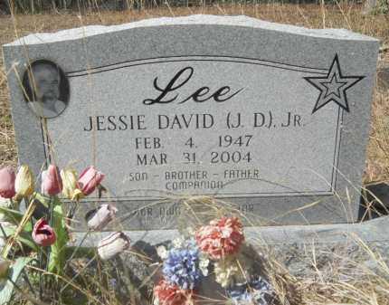 LEE, JR, JESSIE DAVID - Columbia County, Arkansas   JESSIE DAVID LEE, JR - Arkansas Gravestone Photos