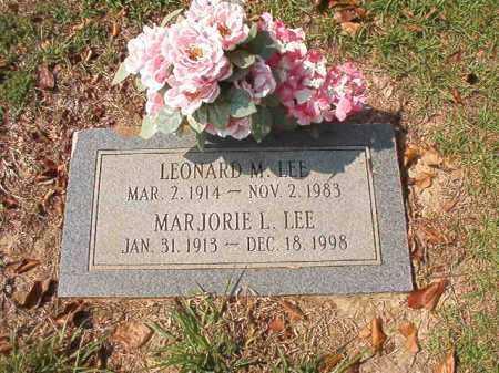 LEE, MARJORIE L - Columbia County, Arkansas | MARJORIE L LEE - Arkansas Gravestone Photos