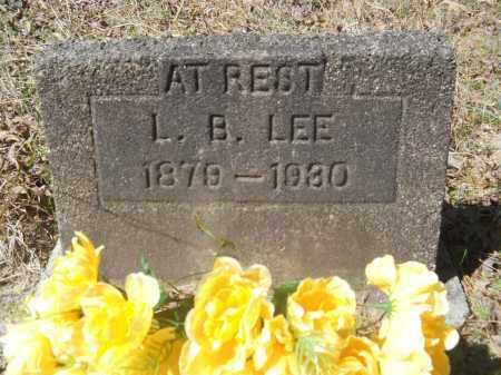 LEE, L B - Columbia County, Arkansas   L B LEE - Arkansas Gravestone Photos