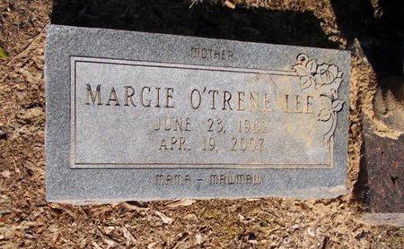 LEE, MARGIE O'TRENE - Columbia County, Arkansas | MARGIE O'TRENE LEE - Arkansas Gravestone Photos