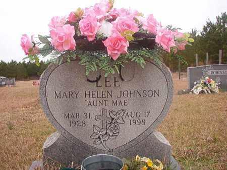 LEE, MARY HELEN - Columbia County, Arkansas   MARY HELEN LEE - Arkansas Gravestone Photos