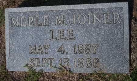 LEE, MERLE M - Columbia County, Arkansas   MERLE M LEE - Arkansas Gravestone Photos