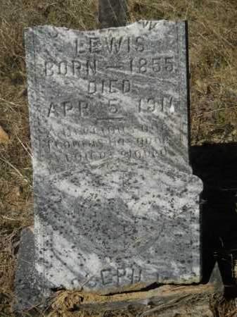 LEWIS, JOSEPH W - Columbia County, Arkansas | JOSEPH W LEWIS - Arkansas Gravestone Photos