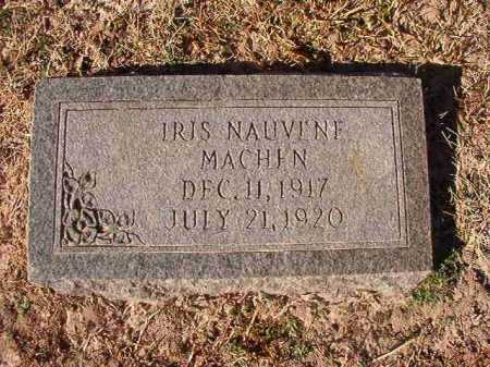 MACHEN, IRIS NAUVENE - Columbia County, Arkansas | IRIS NAUVENE MACHEN - Arkansas Gravestone Photos