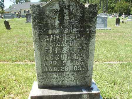 MCCOLLUM, ANNIE C - Columbia County, Arkansas   ANNIE C MCCOLLUM - Arkansas Gravestone Photos