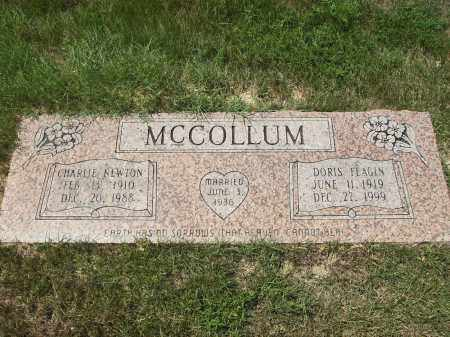MCCOLLUM, CHARLIE NEWTON - Columbia County, Arkansas | CHARLIE NEWTON MCCOLLUM - Arkansas Gravestone Photos