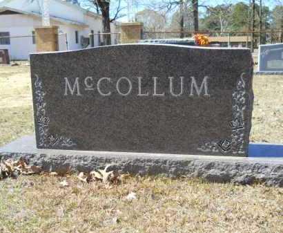 MCCOLLUM, FAMILY - Columbia County, Arkansas | FAMILY MCCOLLUM - Arkansas Gravestone Photos
