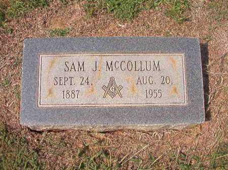 MCCOLLUM, SAM J - Columbia County, Arkansas | SAM J MCCOLLUM - Arkansas Gravestone Photos
