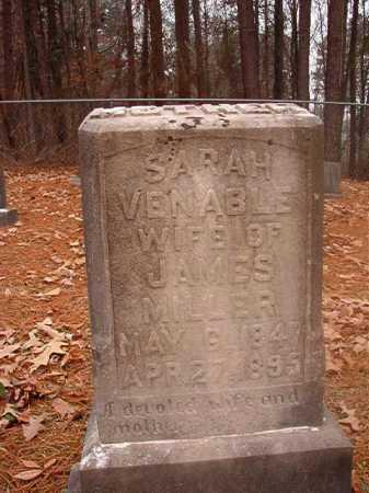 MILLER, SARAH - Columbia County, Arkansas | SARAH MILLER - Arkansas Gravestone Photos