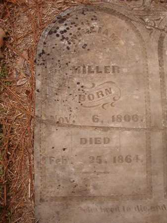 MILLER, WILLIAM - Columbia County, Arkansas | WILLIAM MILLER - Arkansas Gravestone Photos