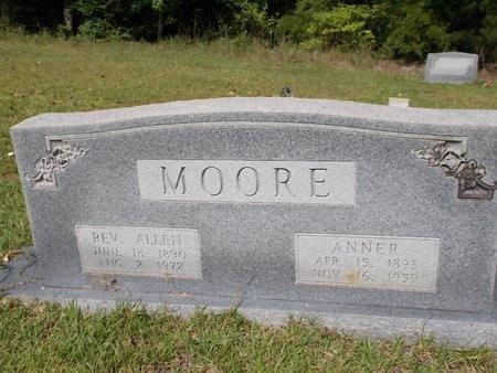 MOORE, REV, ALLEN - Columbia County, Arkansas   ALLEN MOORE, REV - Arkansas Gravestone Photos
