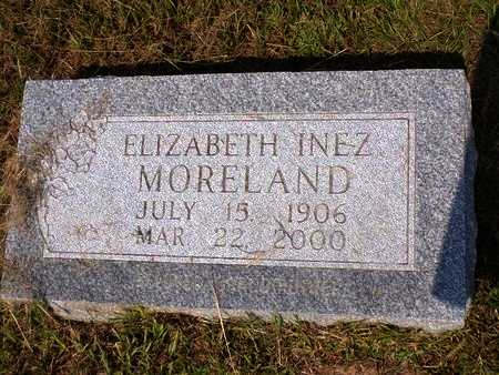 MORELAND, ELIZABETH INEZ - Columbia County, Arkansas | ELIZABETH INEZ MORELAND - Arkansas Gravestone Photos