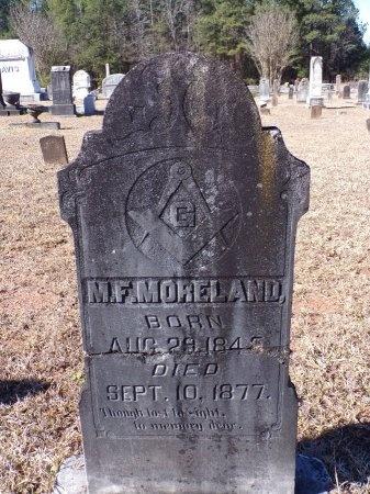 MORELAND, M FRANCIS - Columbia County, Arkansas | M FRANCIS MORELAND - Arkansas Gravestone Photos