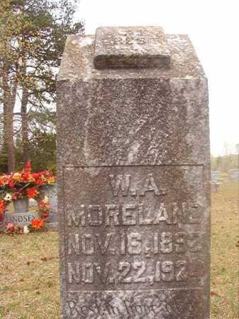 MORELAND, W A - Columbia County, Arkansas | W A MORELAND - Arkansas Gravestone Photos