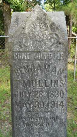 MULLINS, BENJAMAN T - Columbia County, Arkansas | BENJAMAN T MULLINS - Arkansas Gravestone Photos