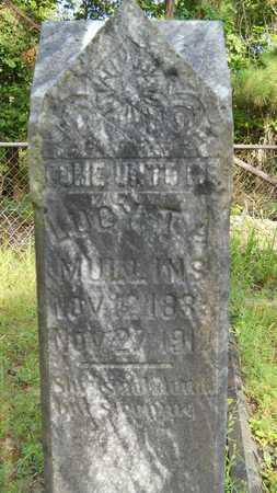 OWEN MULLINS, LUCY THOMAS ADELINE - Columbia County, Arkansas   LUCY THOMAS ADELINE OWEN MULLINS - Arkansas Gravestone Photos