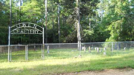 *OWEN CEMETERY, OVERVIEW - Columbia County, Arkansas | OVERVIEW *OWEN CEMETERY - Arkansas Gravestone Photos