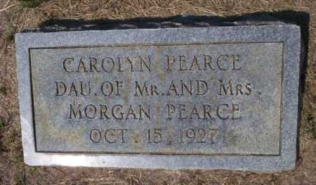 PEARCE, CAROLYN - Columbia County, Arkansas | CAROLYN PEARCE - Arkansas Gravestone Photos
