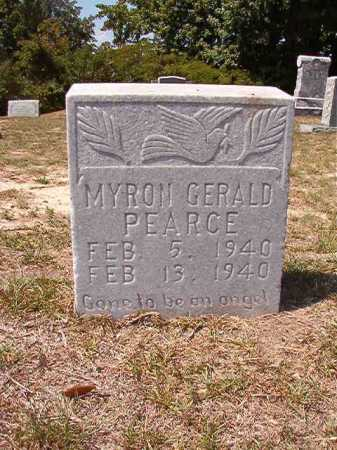 PEARCE, MYRON GERALD - Columbia County, Arkansas | MYRON GERALD PEARCE - Arkansas Gravestone Photos