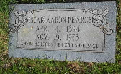 PEARCE, OSCAR AARON - Columbia County, Arkansas | OSCAR AARON PEARCE - Arkansas Gravestone Photos