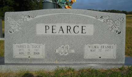 "PEARCE, PARKS D ""DOCK"" - Columbia County, Arkansas | PARKS D ""DOCK"" PEARCE - Arkansas Gravestone Photos"