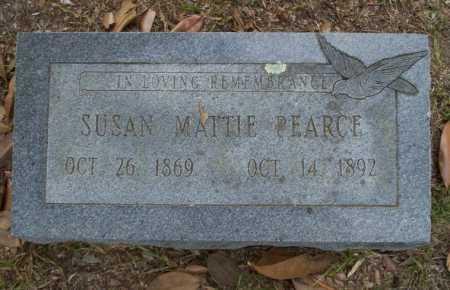 PEARCE, SUSAN MATTIE - Columbia County, Arkansas   SUSAN MATTIE PEARCE - Arkansas Gravestone Photos