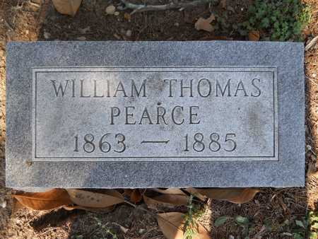 PEARCE, WILLIAM THOMAS - Columbia County, Arkansas | WILLIAM THOMAS PEARCE - Arkansas Gravestone Photos