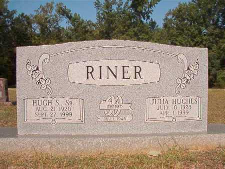RINER, SR, HUGH S - Columbia County, Arkansas | HUGH S RINER, SR - Arkansas Gravestone Photos