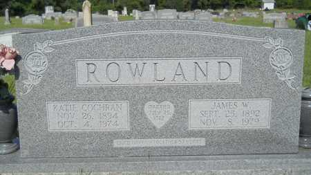 ROWLAND, KATIE - Columbia County, Arkansas | KATIE ROWLAND - Arkansas Gravestone Photos