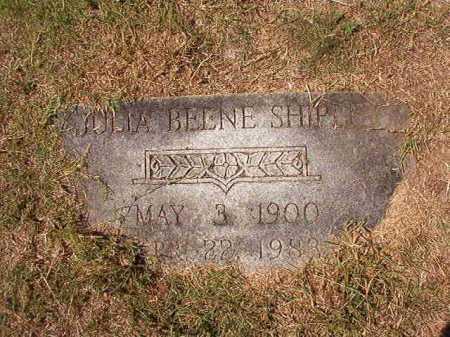 BEENE SHIPLEY, JULIA - Columbia County, Arkansas | JULIA BEENE SHIPLEY - Arkansas Gravestone Photos