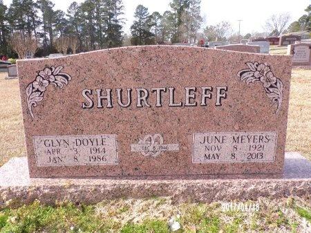 SHURTLEFF, JUNE - Columbia County, Arkansas | JUNE SHURTLEFF - Arkansas Gravestone Photos
